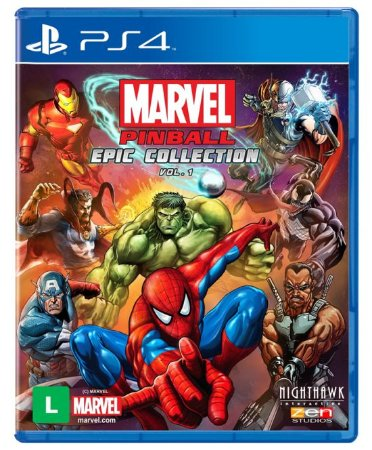 Marvel Pinball Epic Collection Vol. 1 - PS4