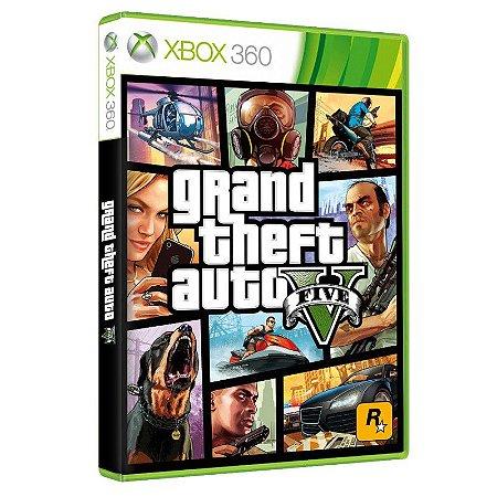 Grand Theft Auto V - GTA V - Xbox 360