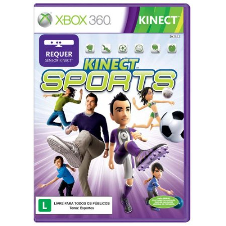 KINECT SPORTS-XBOX 360
