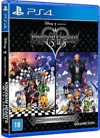 Kingdom Hearts - HD 1.5 + 2.5 Remix - PS4