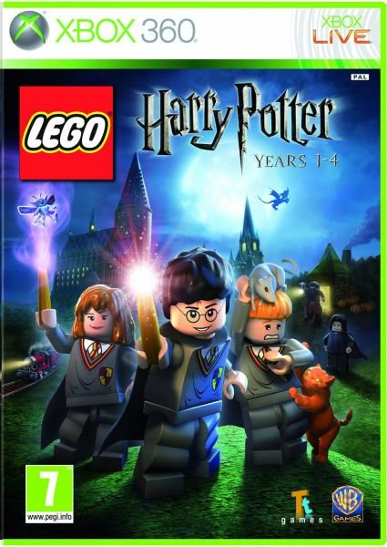 LEGO HARRY POTTER 1- 4  XBOX 360