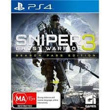 SNIPER 3 GHOST WARRIOR  PS4