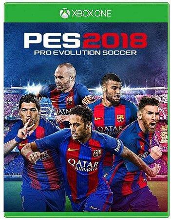 PES 18 - Pro Evolution Soccer- Xbox One