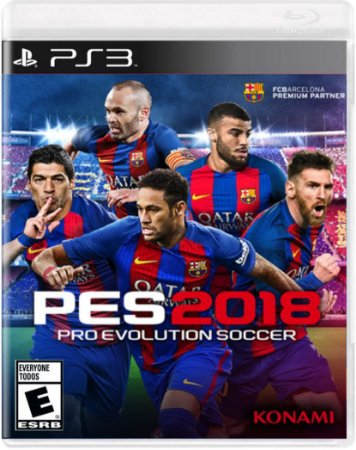 Pré-Venda PES 18 - Pro Evolution Soccer 12/09/2017 - PS3