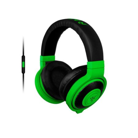 Razer Kraken Neon Green Mobile - Headset