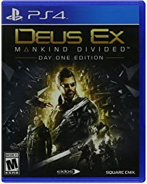 Deus Ex Manking Divided -PS4