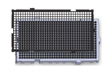 Estrados / Palete / Pallets Em Plástico 50 X 25 X 2,5 Cm - Cód. EST25