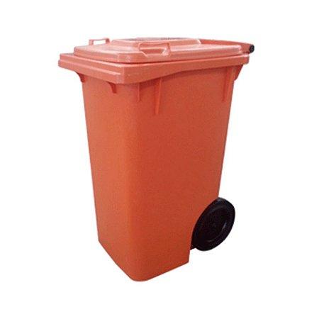 Carrinho Coletor de Lixo 240 Litros sem pedal
