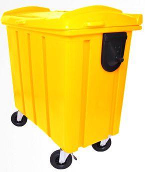 Container de lixo 700 litros Roto Moldado - Cód. 407