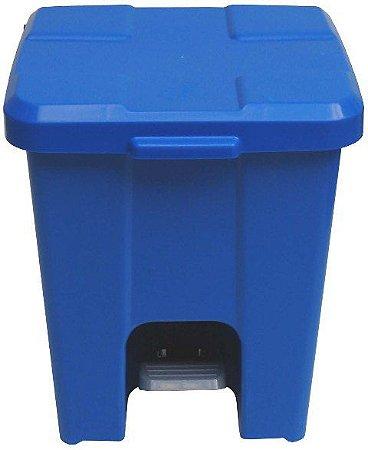 Lixeira plástica com Pedal 15 litros - Cód. CP15