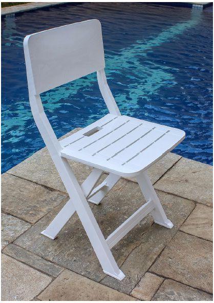 Cadeira Plástica Dobrável - Cód. CA5