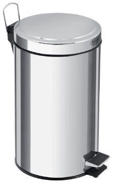 Lixeira Aço Inox com pedal 20 Litros Tramontina - Cód. 94538/120