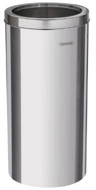 Lixeira em aço inox 30 litros tampa Aro – Tramontina