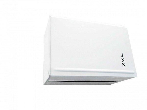 Toalheiro interfolha esmaltado para papel 2 dobras