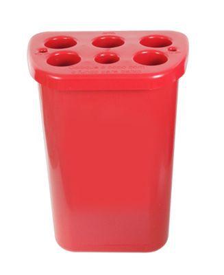 Dispensador plástico para 850 copos de água, 200 copos de café e palhetas