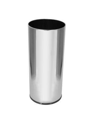 Porta guarda-chuva em aço inox 50 litros