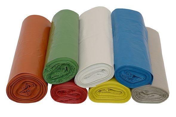 Saco Para Lixo 20 litros com 100 unidades sacos de uma só cor - Cod. SL20