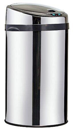 Lixeira automática com sensor 30 litros Inox