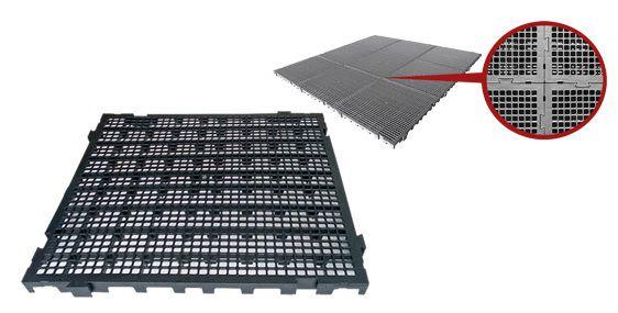 Estrados / Palete / Pallets Em Plástico 50 x 50 x 3 cm - Cód. EST30