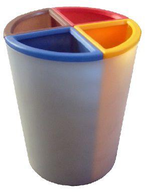 Lixeira Mix4 capacidade 50 litros