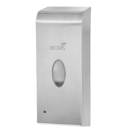 Dispenser para sabonete em espuma, acionado por sensor de presença Inox Escovado
