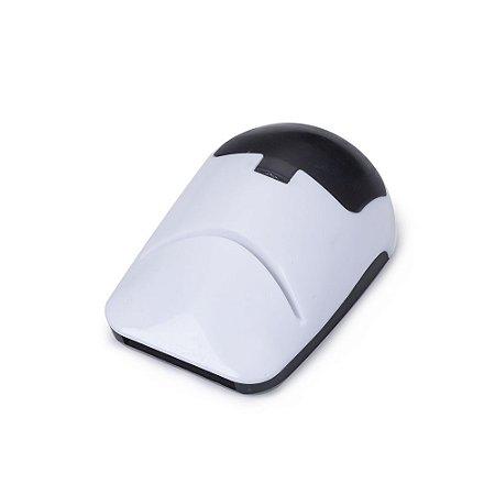 Porta cartão plástico formato mouse com três funções: porta cartão, porta. Código SK 10101