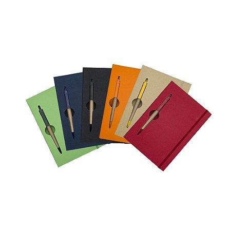 Bloco de anotações brochura capa dura com 120 folhas  destacáveis.Código: SK 13005