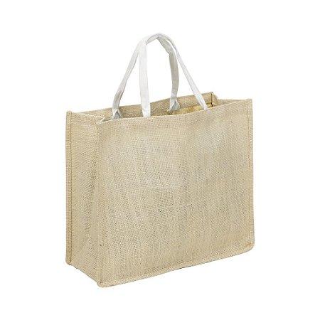 Sacola de polietileno ecológica com alça de algodão,linha ecológica . Código SK 13333