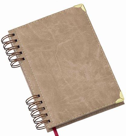 Agenda Wire-o Luxo - Capa Couro Sintético. Código SKL838790