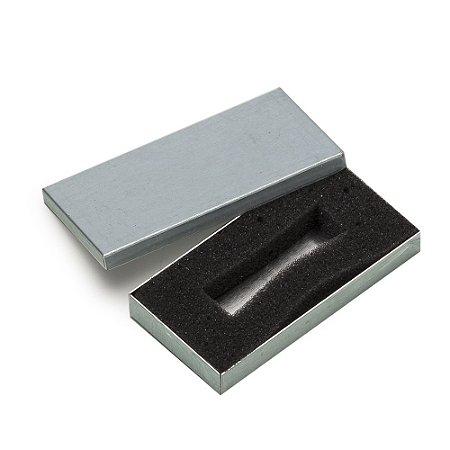 Estojo de alumínio escovado para pen drive. cod. SK 7356
