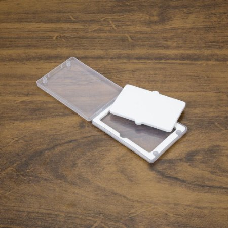 Estojo plástico para pen card transparente. cod.SK 13281