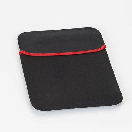 Capa para notebook 12 polegadas, material em neoprene. Cód. SK11683