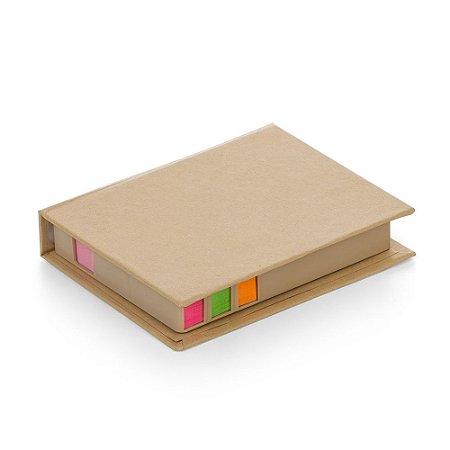 Bloco de Anotação com Post-it. Cod. SK12169B