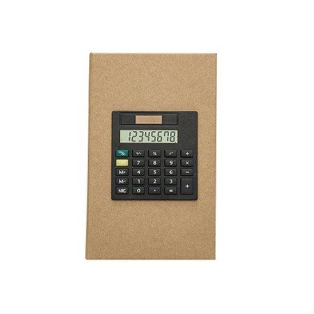 Bloco de anotações com calculadora. Cod. SK 12520