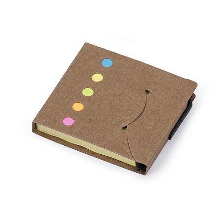 Bloco de anotações com caneta. Cod. SK 12681