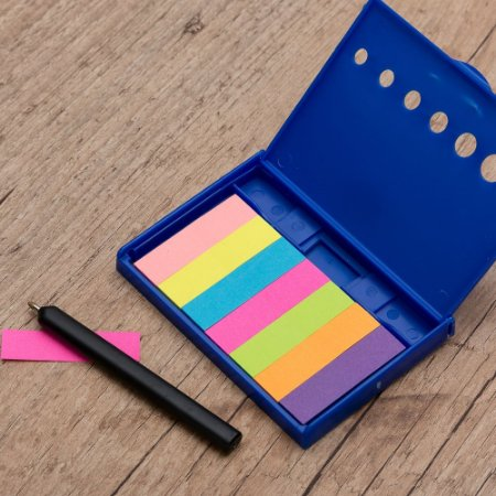 Kit Post-it com Caneta. Cód. SK 1933