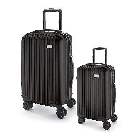 Conjunto de 2 malas de executivo. ABS e PET. Cód.SPCG92295