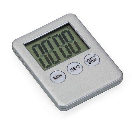 Timer digital plástico com imã. Material plástico com os botões de Min(minutos). Cód.SK12959
