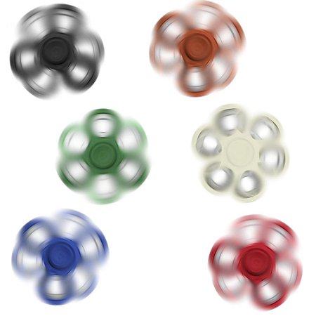 Spinner anti-stress colorido com anéis de aço. Material plástico ABS. SK13701