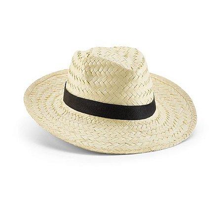 Chapéu panamá. Palha natural. Fita não inclusa. Tamanho: 580 mm. Cód.SPCG99423