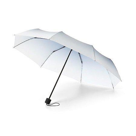 Guarda-chuva dobrável. Poliéster. Dobrável em 3 seções. Fornecido em bolsa com mosquetão. Cód.SPCG39001