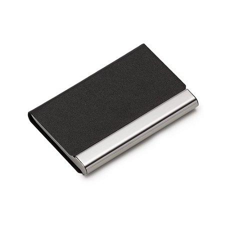Porta cartão em couro sintético. Cód.SK13104