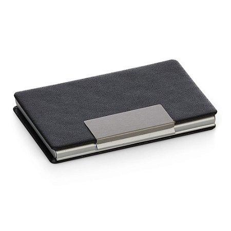 Porta cartão em couro sintético. Cód.12904