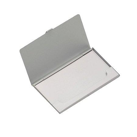 Porta Cartão Alumínio. Cód. SK 2249