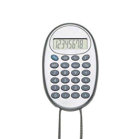 Calculadora plástica oval. Cód.SK2964