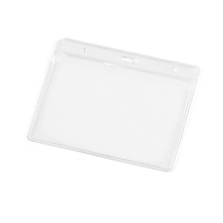 Porta crachás. PVC. 110 x 90 mm. Cód.SPCG93357