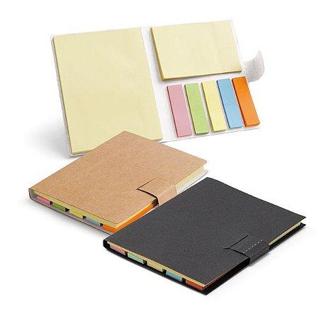Bloco de anotações ecológico.7 blocos adesivados: 25 folhas cada. SPCG93426