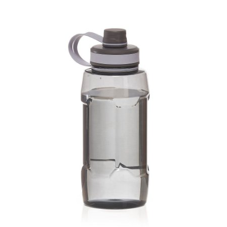 Garrafa plástica com alça de mão, tampa e bico rosqueável. Capacidade 1.500ml. cod: SKGA5800