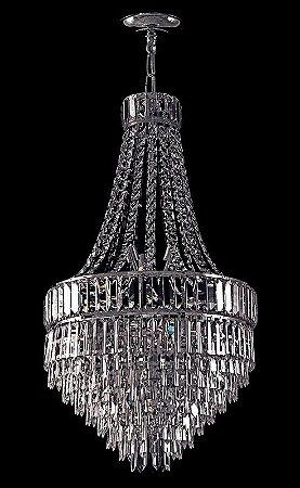Lustre de cristal italiano legitimo 6 lampadas Contemporaneo