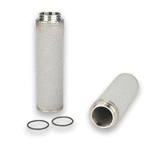 Elemento Filtrante Inox Sinterizado Vapor Culinário 1/2'' 5 Micra